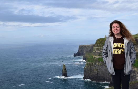 me at the cliffs of moher