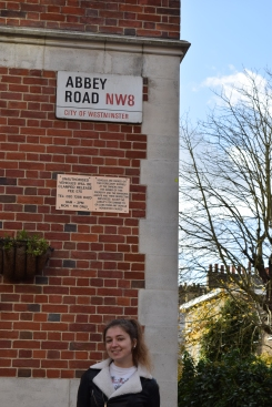 Yours truly at Abbey Road