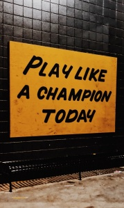play like a champ today